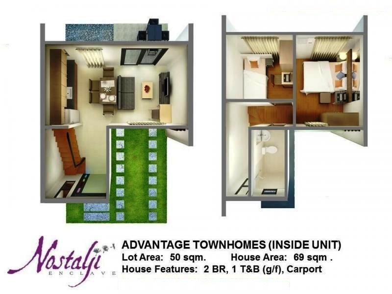 Townhomes1 on philippines house design